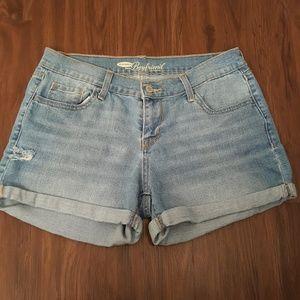 Old Navy Boyfriend Slightly Distressed Shorts 6
